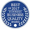 Best of 2017 - Indonesia Business Quality Award